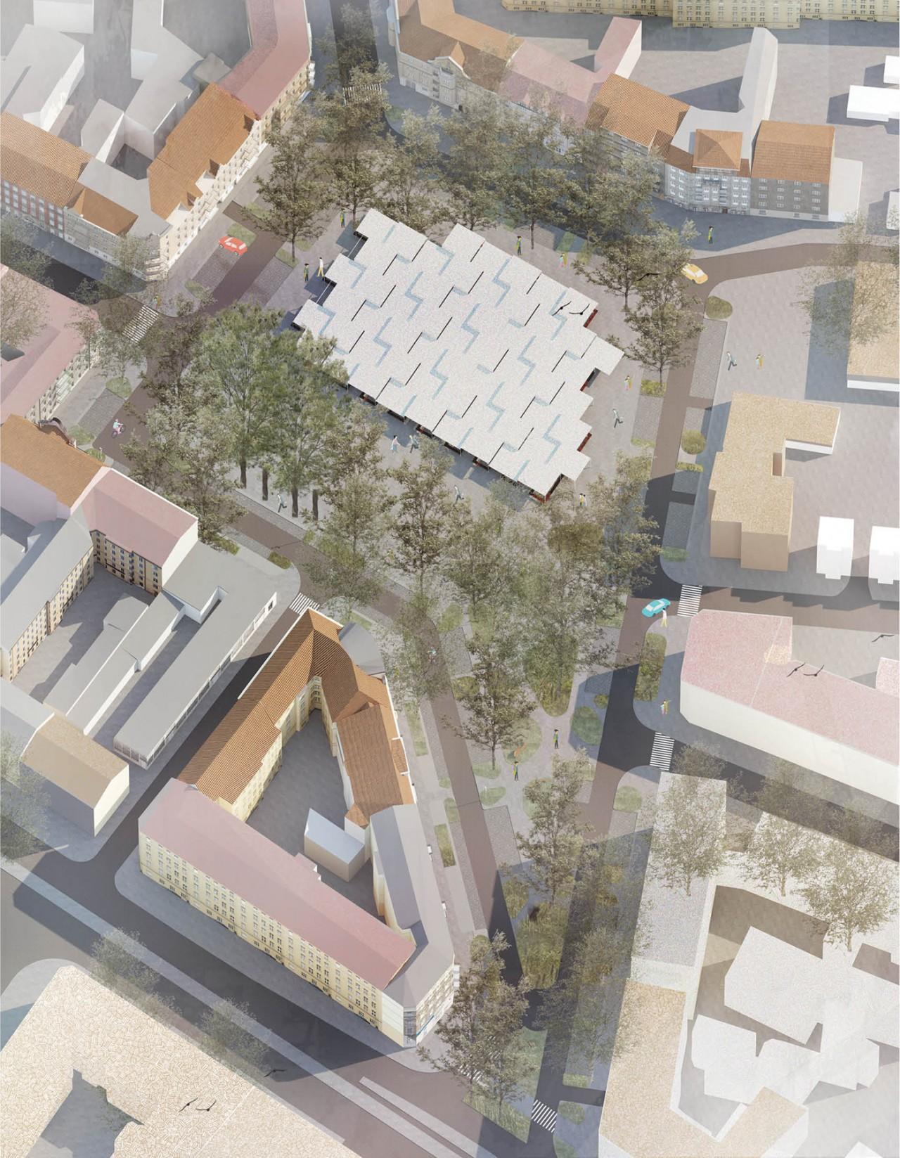 Pracownia Architektury Krajobrazu Rynek Łazarski